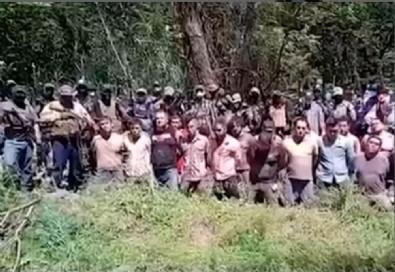 Meksikalı çeteden korkunç infaz! 20 kişi sıraya dizildi: Buranın sahibi zaten var