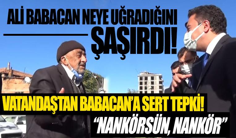 Ali Babacan, Ankara'da vatandaşların tepkisiyle karşılaştı