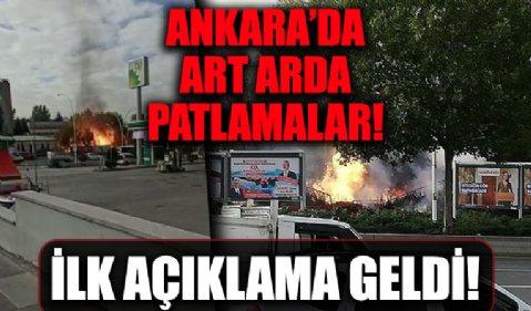 Ankara'da MTA Kampüsü bahçesinde doğalgaz patlaması! İlk açıklama geldi