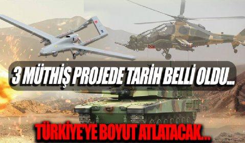Milli Savaş uçağı, Altay Tankı ve Hisar Füzesi için kritik tarih: Türkiye'ye boyut atlatacak