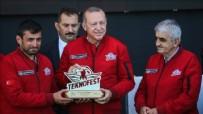 Başkan Erdoğan'dan BayKar tesislerine taziye ziyareti...