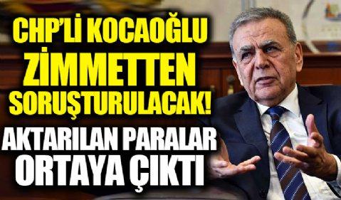 CHP'li Aziz Kocaoğlu zimmetten soruşturulacak