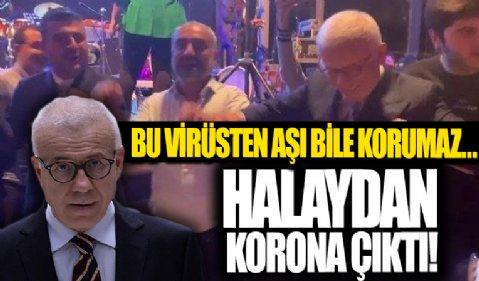 Diyarbakır'daki halayı gündem olan Ertuğrul Özkök koronavirüse yakalandı