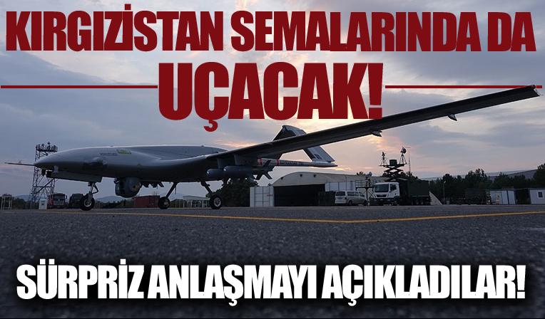 Kırgızistan Türkiye'den SİHA satın aldığını açıkladı