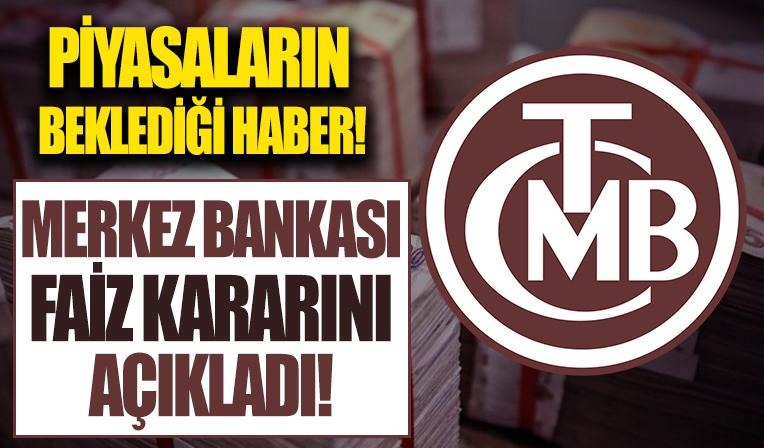 Merkez Bankası  Ekim ayı faiz kararı belli oldu!
