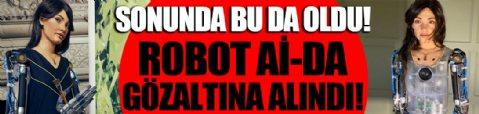 Ressam robot Ai-Da, Mısır'da gözaltına alındı