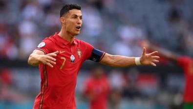 Ronaldo'nun zor anları!