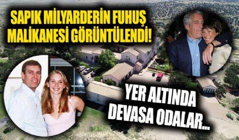 Sapık milyarder Jeffrey Epstein'ın taciz evi ortaya çıktı! Prens Andrew'un görüntüleri…