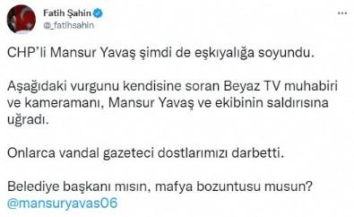 AK Parti Genel Sekreteri Fatih Şahin'den Mansur Yavaş'a sert tepki! 'Belediye başkanı mısın mafya bozuntusu musun?' Haberi