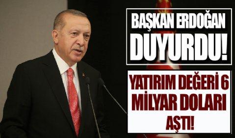 Başkan Erdoğan Türkiye-Afrika Ekonomi ve İş Forumu'nda açıklamalarda bulunuyor