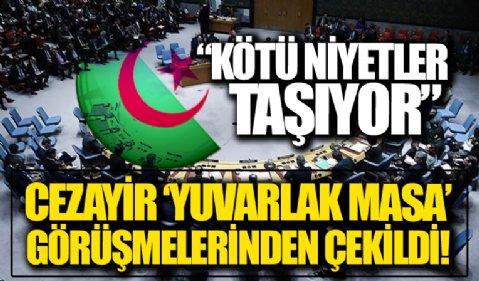 Cezayir BMGK toplantısından çekildi: Kötü niyetler taşıyor