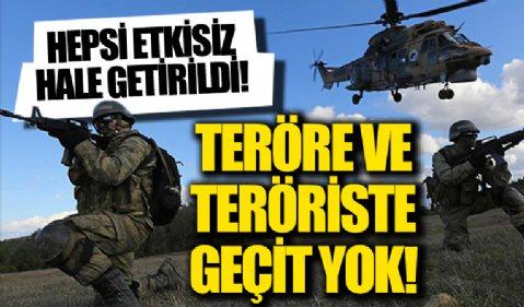 İçişleri Bakanı Süleyman Soylu duyurdu! 6 terörist ölü olarak ele geçirildi