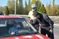Kütahya Il Emniyet Müdürü Necmettin Koç, Trafik Denetimlerine Katildi