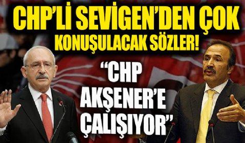 Mehmet Sevigen: CHP'nin önündeki en büyük engel Kılıçdaroğlu ve yönetim kurulu üyeleridir