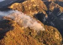 Osmaniye'deki Orman Yanginini Söndürme Çalismalari Sürüyor