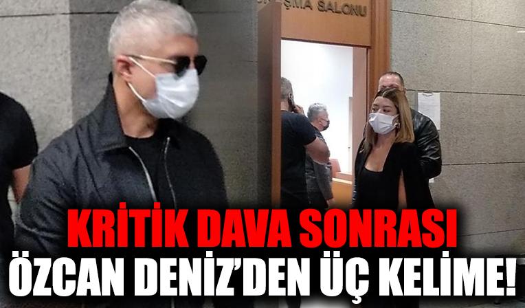 Özcan Deniz ile Feyza Aktan'ın velayet davasında sona gelindi!