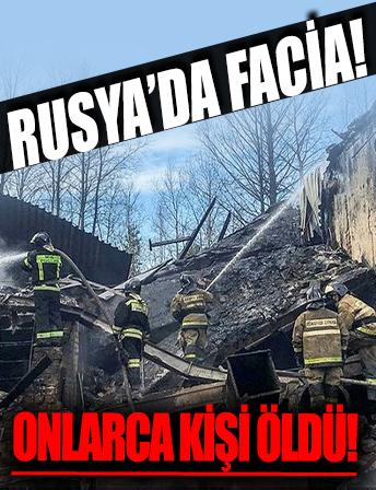 Rusya'da facia! Barut atölyesinde patlama: 16 ölü