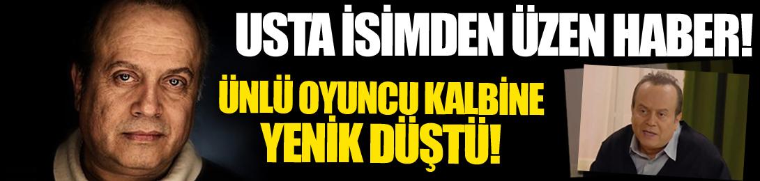 Seksenler dizisinin sevilen oyuncusu Kemal Kuruçay, hayatını kaybetti! Ünlü oyuncu kalbine yenik düştü!