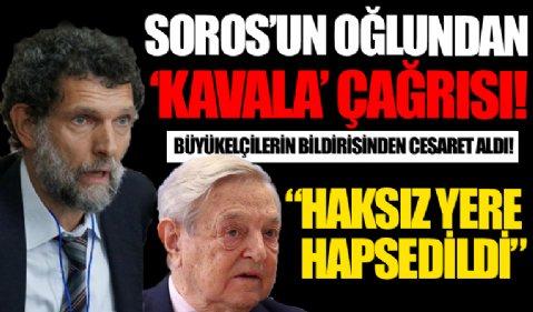 Soros'un oğlundan Kavala çağrısı: Haksız yere hapsedildi