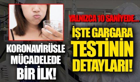 Türk bilim insanlarından gargara ile korona testi!