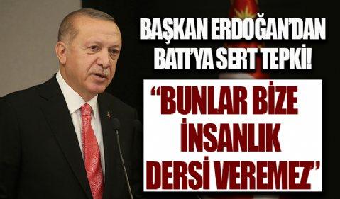 Başkan Erdoğan: Sakın ha bu oyunlara gelmeyin! Bunların hiçbirisi sizin kılınıza dokunamaz