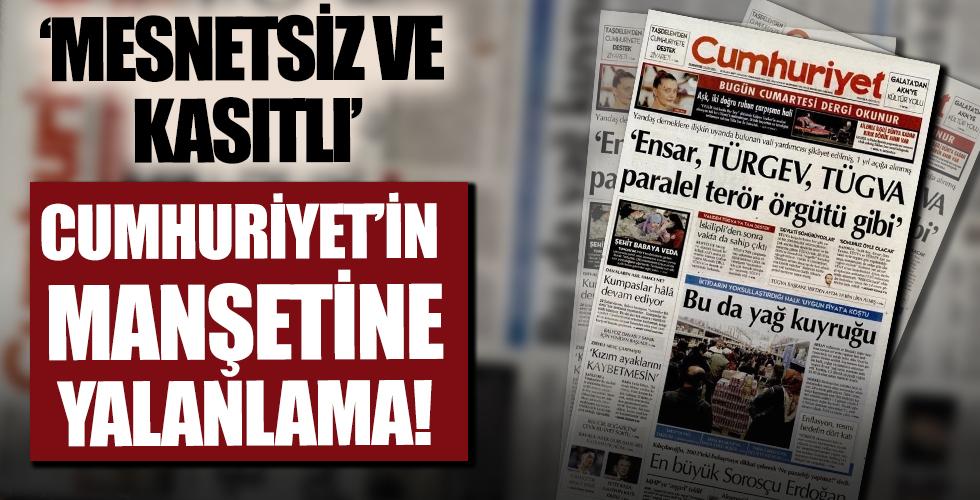 Eskişehir Vali Yardımcısı Salih Altun'dan Cumhuriyet'in skandal manşetine yalanlama