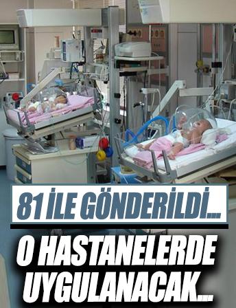 Genelge 81 ilin sağlık müdürlüklerine gönderildi! Hastanelerde 'Emzirme Destek Birimleri' kurulacak