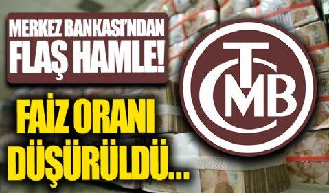 Merkez Bankası zorunlu karşılıklara ödenen faizi düşürdü