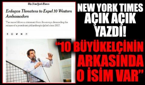 ABD basını Başkan Erdoğan'ın Osman Kavala çıkışını manşete taşıdı