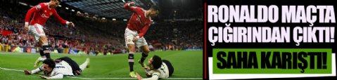 Cristiano Ronaldo Liverpool maçında çığırından çıktı! Saha karıştı…