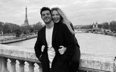 Gözde aşıklar Paris'te!