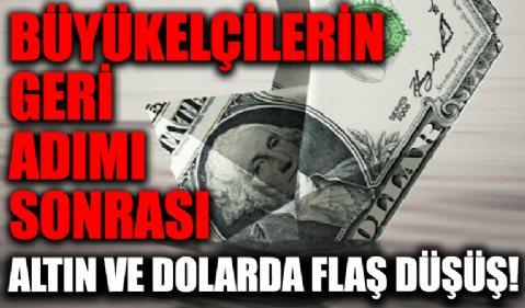 ABD'nin açıklaması sonrası dolar ve altında flaş düşüş!