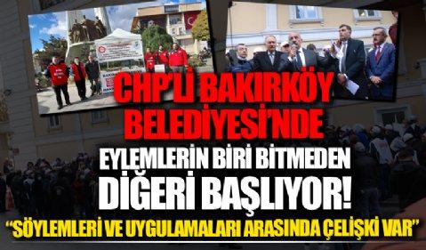 Bakırköy'de eylemlerin biri bitmeden, diğeri başlıyor!