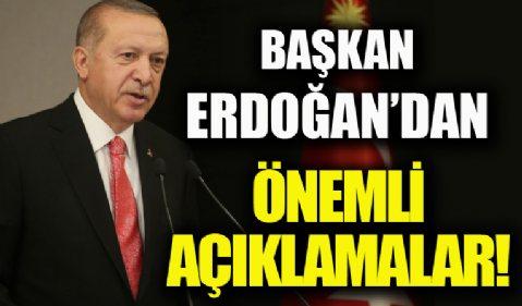 Kabine toplantısı sona erdi! Başkan Recep Tayyip Erdoğan açıklama yapıyor