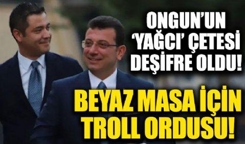 Murat Ongun talimatı verdi Ümit Kaya kurdu! Beyaz Masa içinde troll ordusu