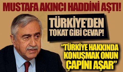 Mustafa Akıncı haddini aştı! Türkiye'den tokat gibi cevap: Onun çapını aşar