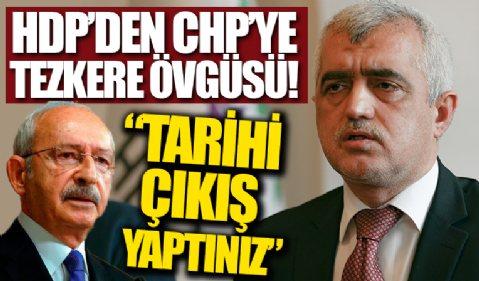 HDP'den CHP'nin 'hayır' çıkışına övgü: Tarihi bir çıkış yapmıştır