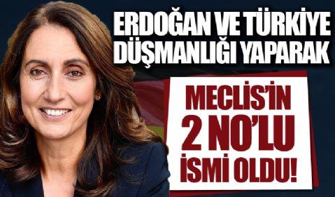 Özoğuz Erdoğan ve Türkiye düşmanlığı yaparak Meclis'in 2 numaralı ismi oldu!