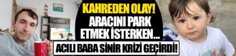 Zonguldak'ta bir kişi, aracını park etmek isterken 4 yaşındaki oğlunu ezdi