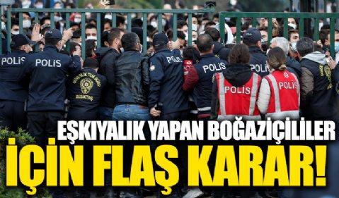 Boğaziçi Üniversitesi protestoları! 13 sanığa zorla getirme kararı