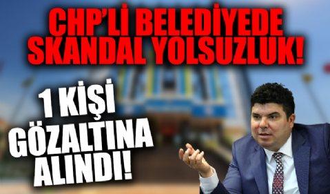 CHP'li İzmir Buca Belediyesi'nde yolsuzluk! 11 kişi gözaltında!