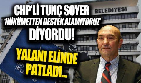 İzmir Büyükşehir'e hükümetten 135 milyon liralık teşvik
