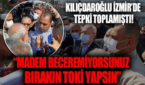 İzmir Karabağlar'da Kılıçdaroğlu vatandaşın kentsel dönüşüm tepkisiyle karşılaşmıştı: Madem beceremiyorsunuz bırakın TOKİ yapsın!