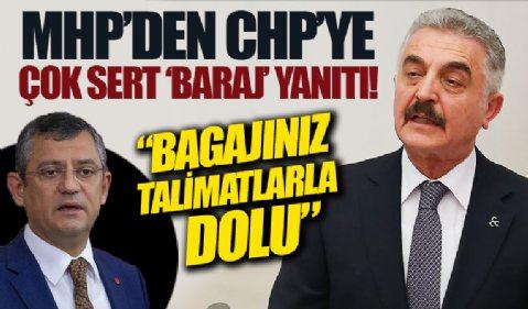 MHP'li Büyükataman'dan CHP'li Özel'e yanıt: CHP'nin bagajı millet düşmanlarının talimatlarıyla dolu