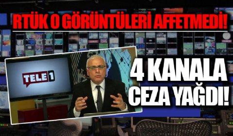 RTÜK'ten 4 yayın kuruluşuna ceza