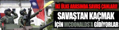 Savaştan korkan McDonalds'a gidiyor! WSJ manşetten verdi