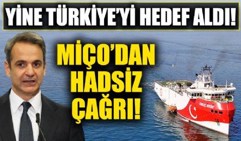 Yunan Başbakan Miçotakis'ten Türkiye'ye hadsiz çağrı!
