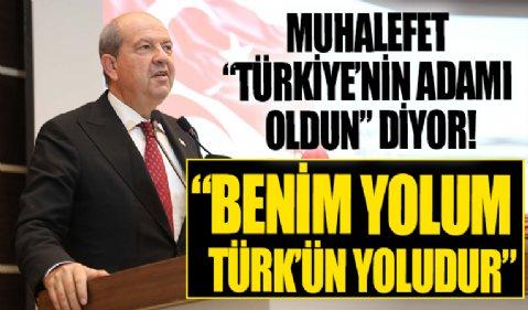 Ersin Tatar: Benim yolum Türk'ün yoludur