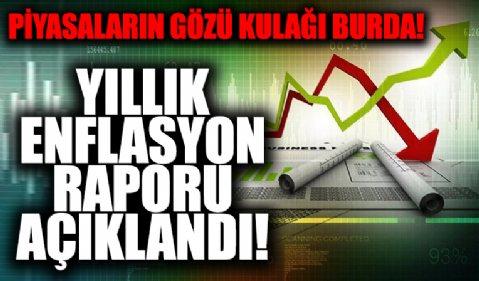 Merkez Bankası yılın enflasyon raporunu açıkladı!