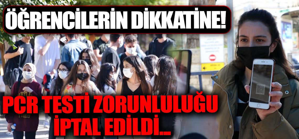 Üniversite öğrencilerinin dikkatine: Valilik açıkladı: İptal edildi!